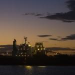 Port Hedland Port at Night